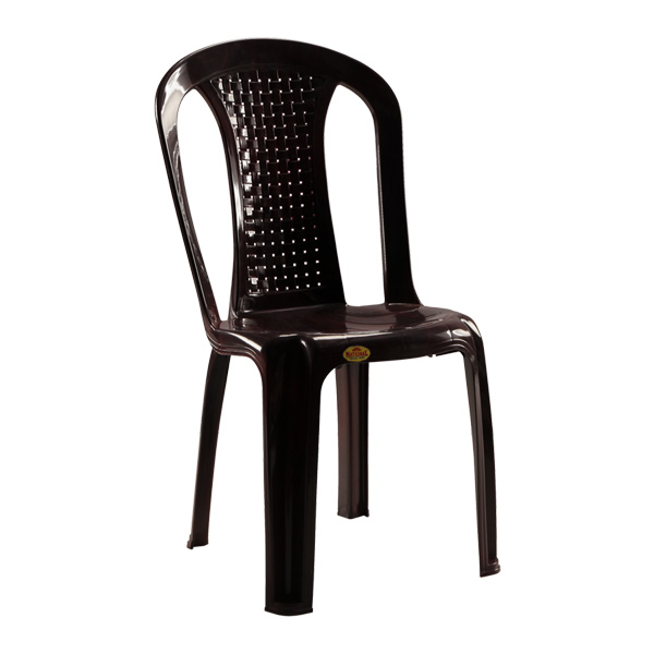 Alto Armless Chair Black