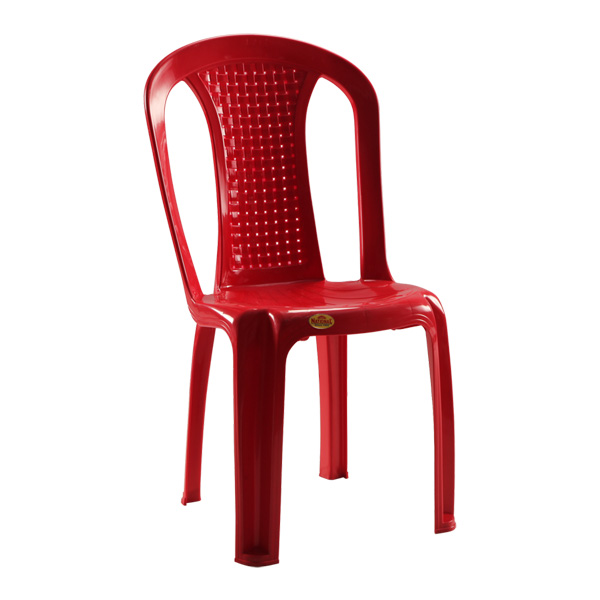 Alto Armless Chair Red