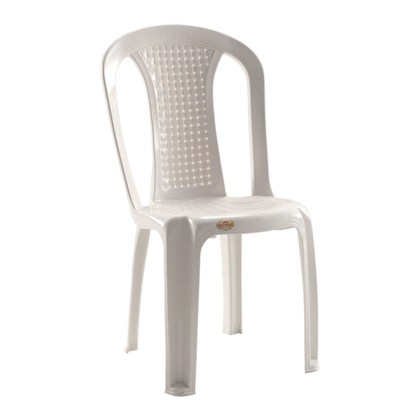 Alto Armless Chair White