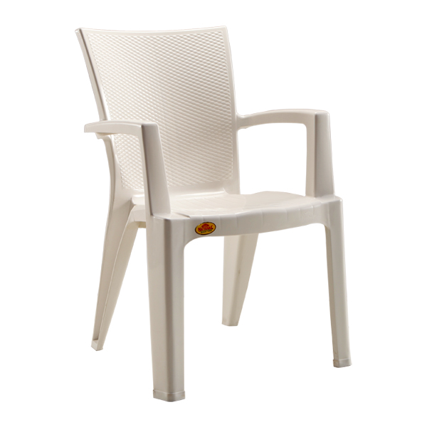 The Boss White Premium Chair